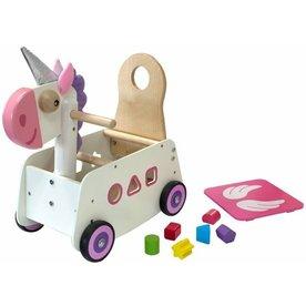 I'm Toy  Loopwagen Eenhoorn, I'm Toy