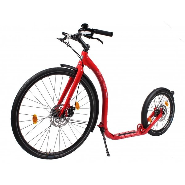 Kickbike Kickbike Step Safari Rood Limited Edition