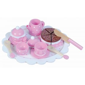 New Classic Toys Theeservies, wit pastel, incl. taart!