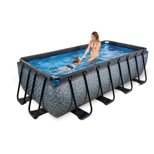 EXIT zwembad 400x200cm met zandfilterpomp