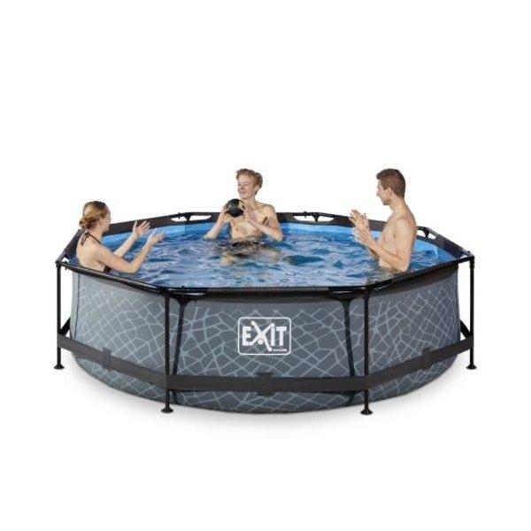 Exit EXIT  zwembad ø300x76cm met filterpomp