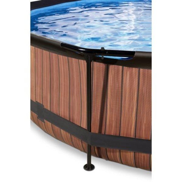 EXIT  zwembad ø300x76cm met filterpomp