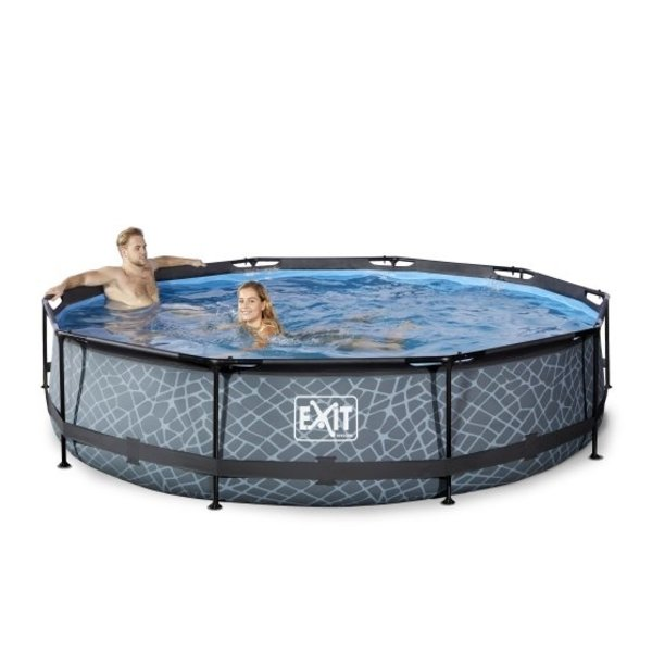 Exit EXIT zwembad ø360x76cm met filterpomp