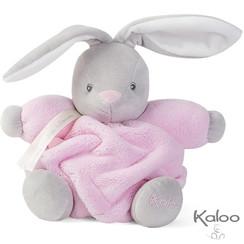 Knuffel konijn roze, 18 cm