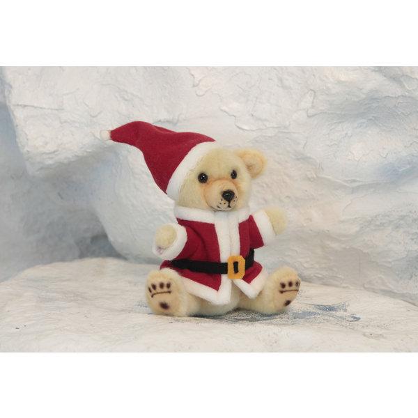 Pluche kerstbeertje, 20 cm Hansa