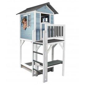 Sunny  speelhuisjes Speelhuis Lodge XXL Plus (blauw/wit)