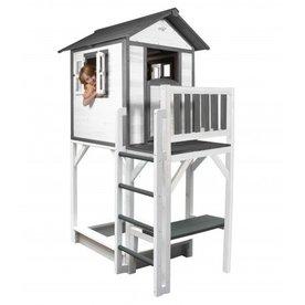 Sunny  speelhuisjes Speelhuis Lodge XXL Plus (grijs/wit)