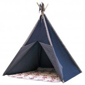 Sunny Nautic Tipi Tent