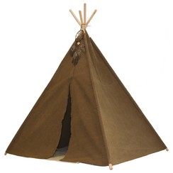 Indiaanse  Tipi Tent, Sunny