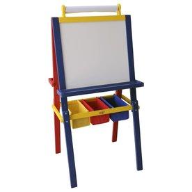 Sunny  speelhuisjes Schoolbord Storage Art Easel, Sunny