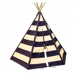 Lumo Tipi Tent met verlichting Blauw / Wit