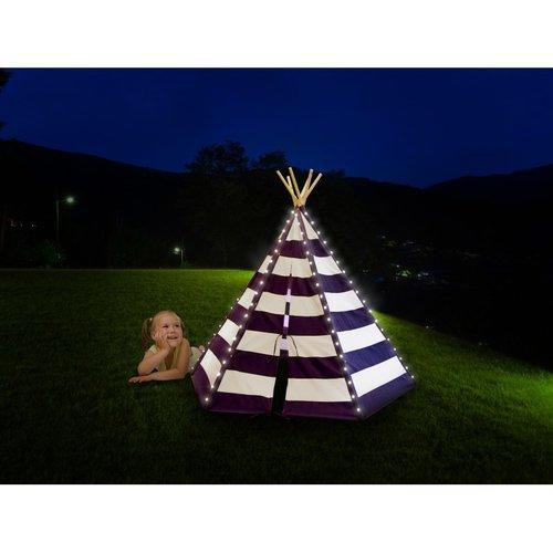Sunny  speelhuisjes Lumo Tipi Tent met verlichting Blauw / Wit