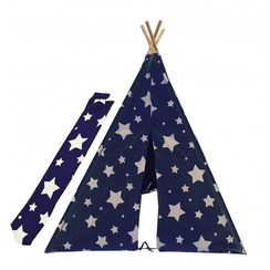 Cosmo Tipi Tent Blauw / Wit