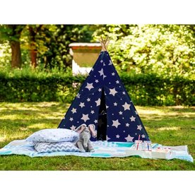Sunny Cosmo Tipi Tent Blauw / Wit