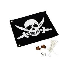 Piraat  Vlag met liftsysteem