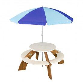 Speelhuis AXI Orion Picknicktafel (incl. Parasol)