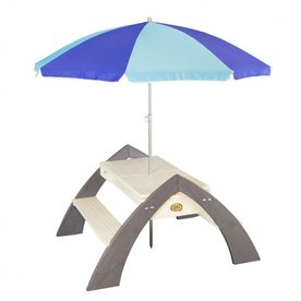 Speelhuis AXI Delta Zand & Water Picknicktafel (incl. Parasol)