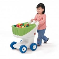 Speelgoed Winkelwagen groen, Step2