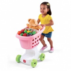 Winkelwagen Speelgoed Little Helpers Roze