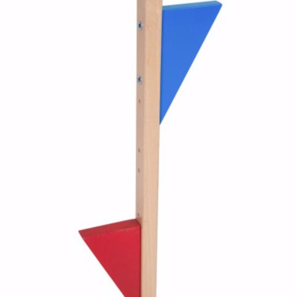 Van Dijk Toys Stelten Beukenhout 170 cm, van Dijk Toys