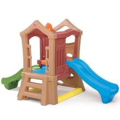 Step2 Play Up speelhuisje met twee glijbanen