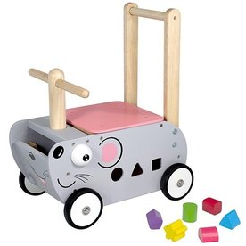 I'm Toy  Loopwagen Muis, I'm Toy