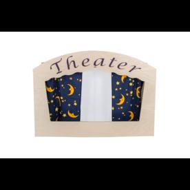 van Dijk Toys Houten Theater tafelmodel