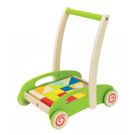 Hape Blokkenwagen Block & Roll