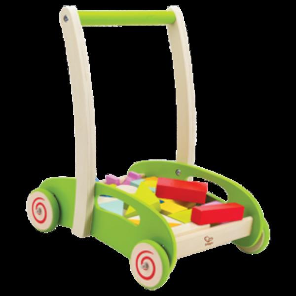 Hape Blokkenwagen Block & Roll, Hape