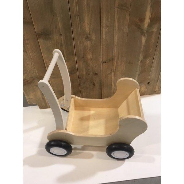 Van Dijk Toys Houten Poppenwagen Combi, van Dijk Toys