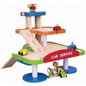 New Classic Toys viga toys - parkeergarage met etage
