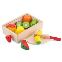 new classic toys - snijset - fruit box 10 - delig
