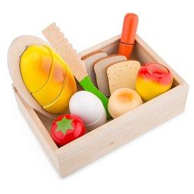 New Classic Toys New classic toys - snijset - ontbijt box