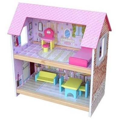 Houten Poppenhuis kopen, schitterende poppenhuizen.