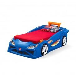 Hot Wheels Race Car Bed Blauw, Step2