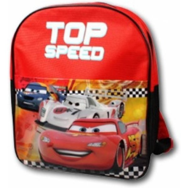 Cars Cars rugzak Top Speed, rood
