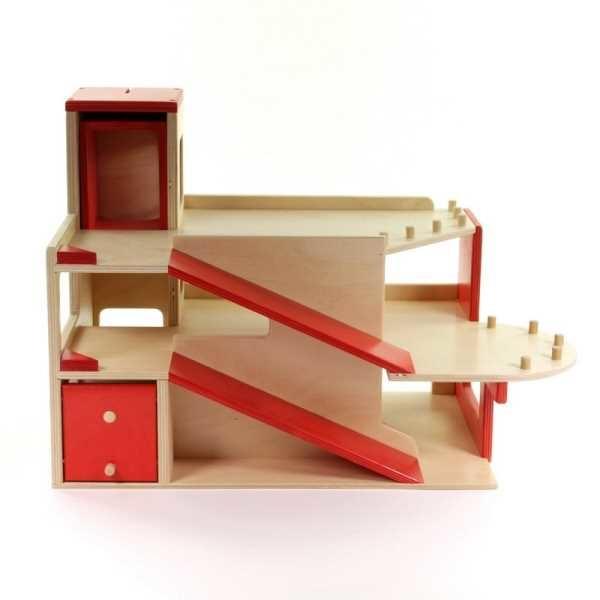 van Doys Speelgoed Garage hout