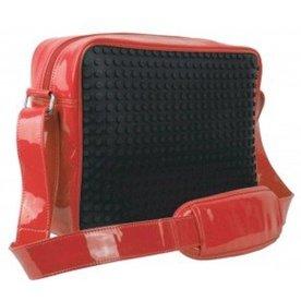 Pixel Bags Schoudertas Messenger 02 - 160 large pixels - black/red
