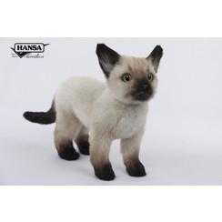 Knuffel Siamese Kat