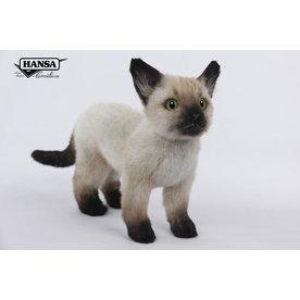 Hansa Knuffel Siamese Kat