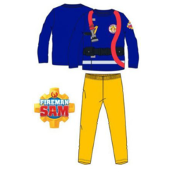 Brandweerman Sam Pyjama Geel - Blauw
