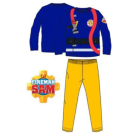 Brandweerman Sam Brandweerman Sam Pyjama Geel - Blauw