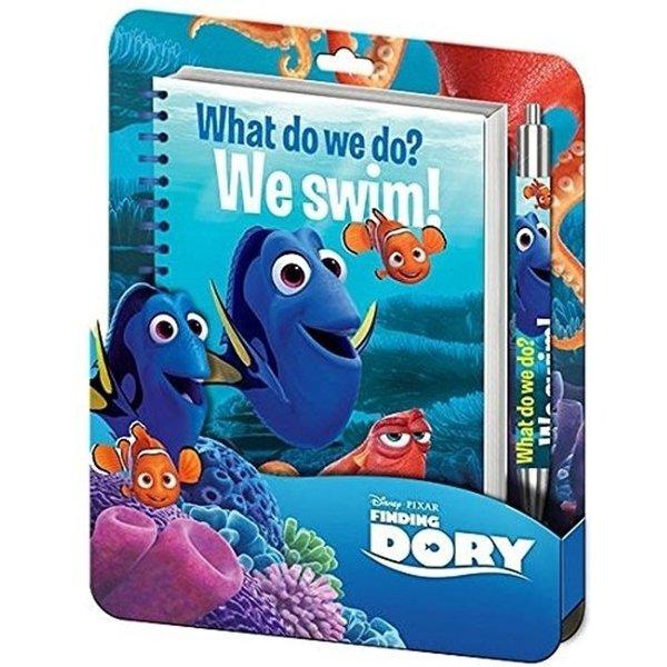 Finding Dory Finding Dory Notitieboekje met pen