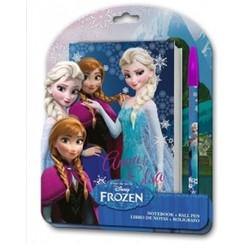 Frozen Notitieboekje met pen