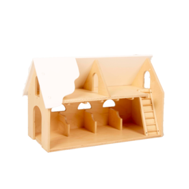 Van Dijk Toys Witte Houten Boerderij