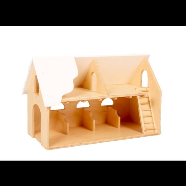Van Dijk Toys Boerderij geschikt onder de 3 jaar White Wash van Dijk Toys