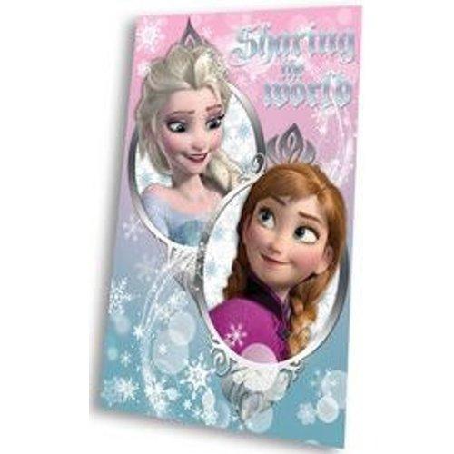 Frozen Plaid Disney Frozen Elsa en Anna Blauw/Roze