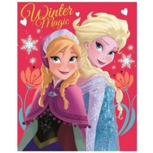 Frozen Frozen Plaid Winter Magic roze