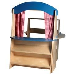 Van Dijk Toys Winkel, basisuitvoering, tevens poppenkast