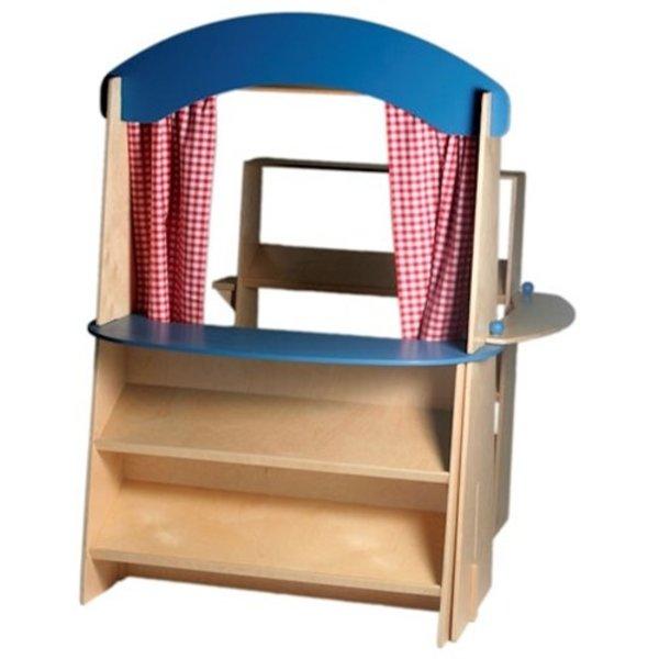 Van Dijk Toys Van Dijk Toys Winkel, basisuitvoering, tevens poppenkast